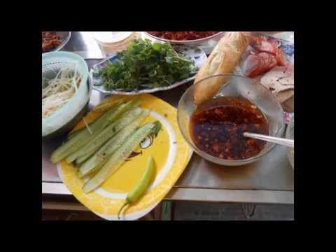 Grilled chopped meat baguette  - Banh my cha