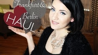 Rebecca Floeter – XXL HAUL: Frankfurt to Berlin