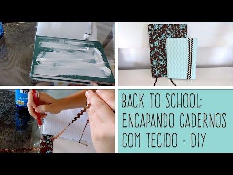 POLYFORT EXTRA - DIY: Encapando cadernos com tecidos