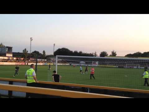 Manchester United Pitch Invaders at Southport