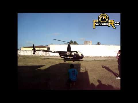 Helicóptero de Farra de Rico - Monte Alegre/RN