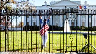 Một người đàn ông bị bắt vì leo rào Tòa Bạch Ốc
