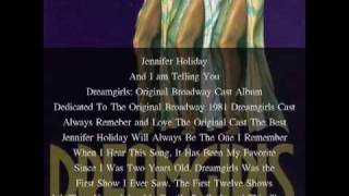 Jennifer Holiday, And I Am Telling You, Dreamgirls