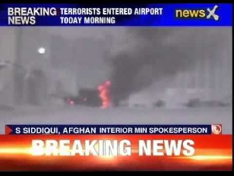 Terrorists attack Kabul airport