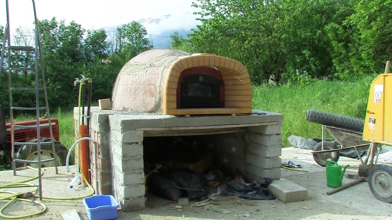 Montaggio forno a legna youtube - Forno da incasso per pizza ...