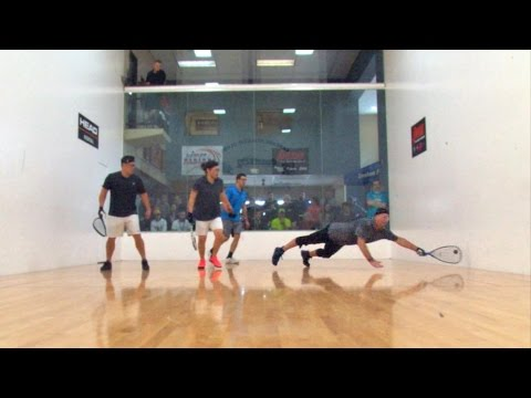 2017 Racquetball NW Regionals Doubles Clip
