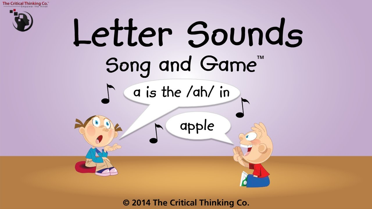 Letter Sounds Song and Game - YouTube