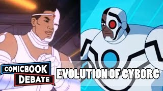 Evolution of Cyborg in Cartoons in 11 Minutes (2017)