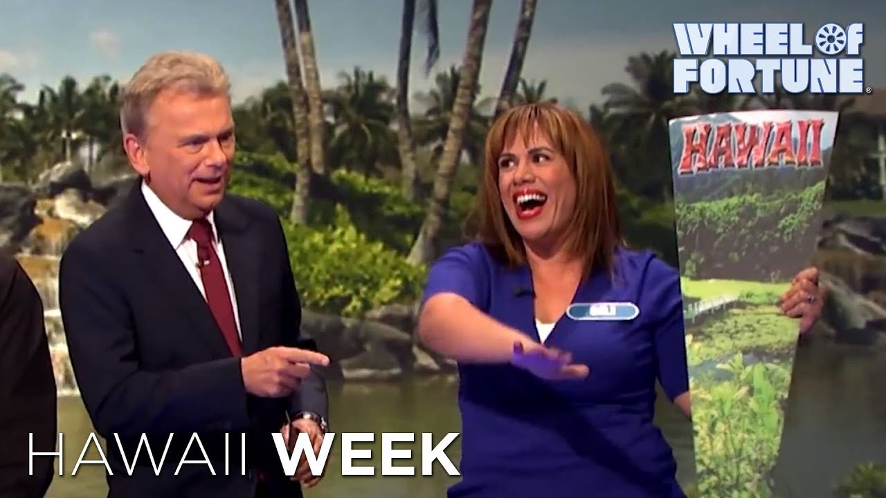 Wheel Of Fortune Hawaii Week Youtube