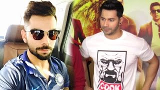 Varun Dhawan Talks About Virat Kohli Role In Dishoom Movie