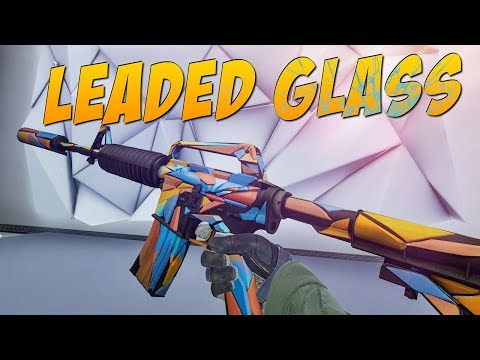 CS:GO - M4A1-S | Leaded Glass Gameplay