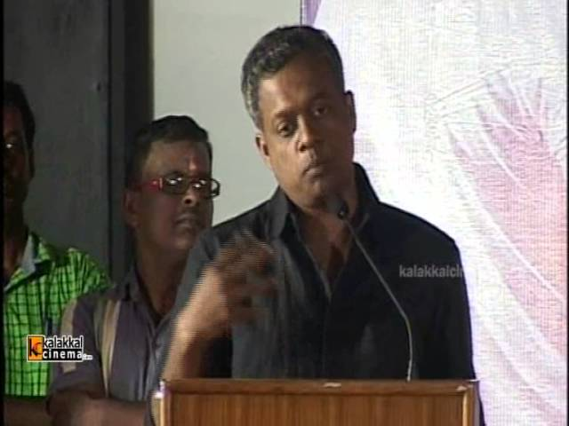 Gautham Menon at Ner Ethir Movie Audio Launch