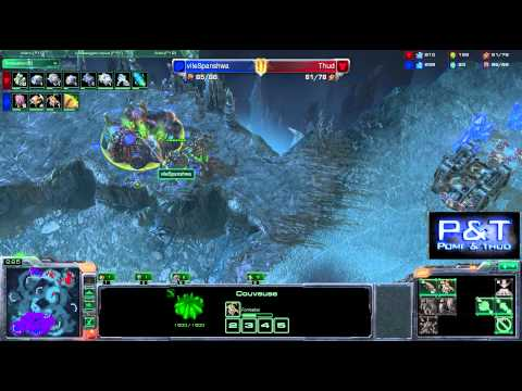 (HD399) VileSpanshwa vs Thud - ZvT - Starcraft 2 Replay [FR]