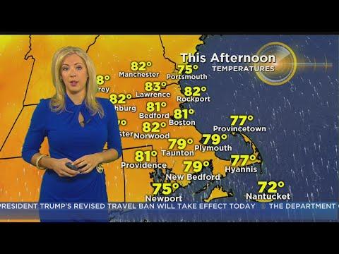 WBZ Morning Forecast For June 29