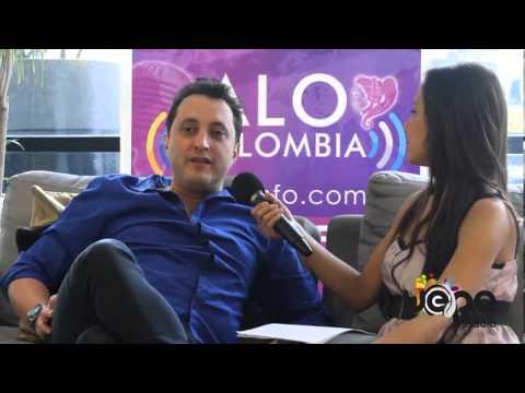 Entrevista al comediante colombiano Andrés López en Buenos Aires, Argentina 2013
