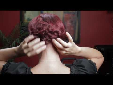 How To Do Your Own Updo - Braided Updo