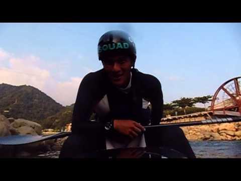 Ziga happy birthday from taichung canoe slalom team