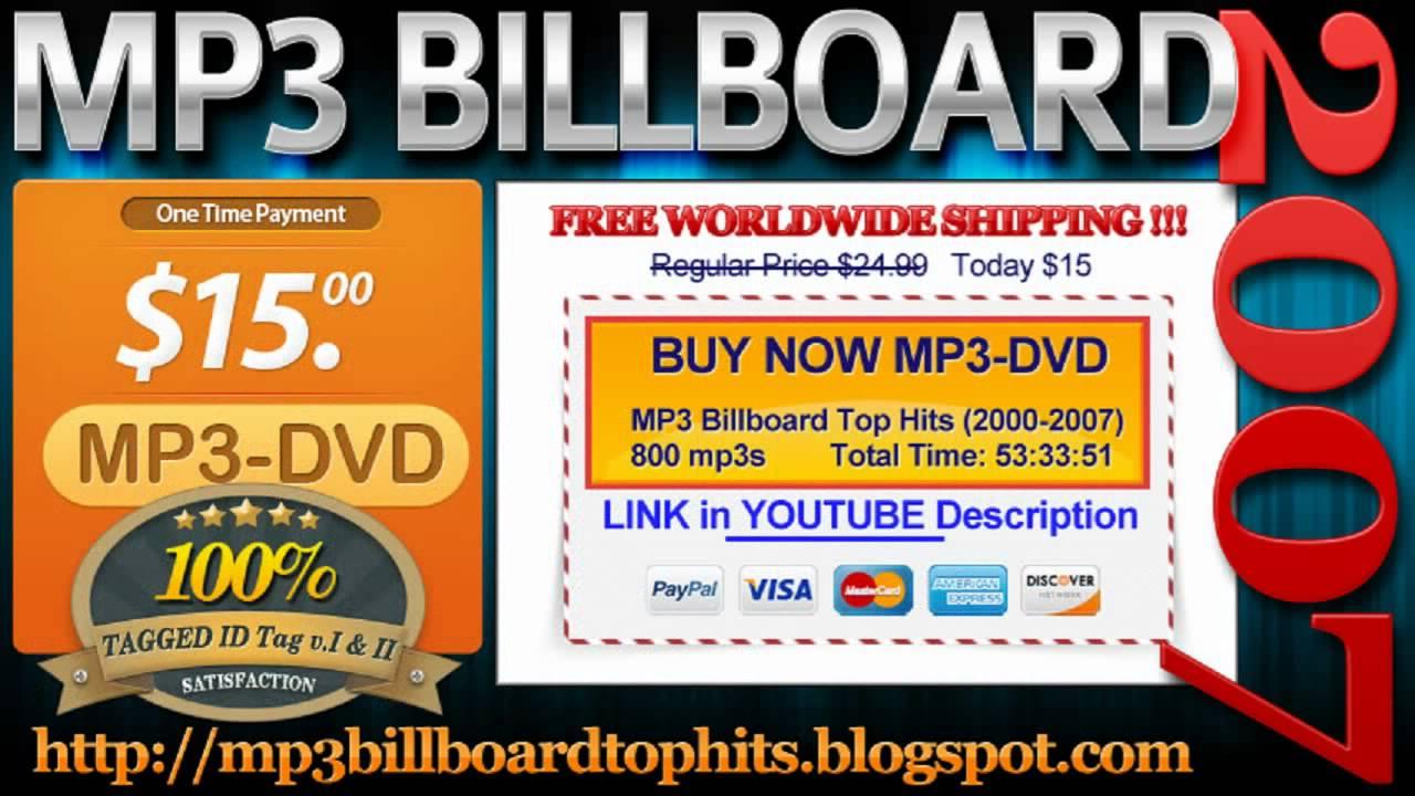 mp3 BILLBOARD 2007 TOP Hits mp3 BILLBOARD 2007 - YouTube