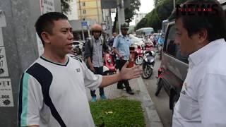 Lần đầu ông Đoàn Ngọc Hải không cẩu ô tô của tài xế đi vệ sinh đậu xe vỉa hè