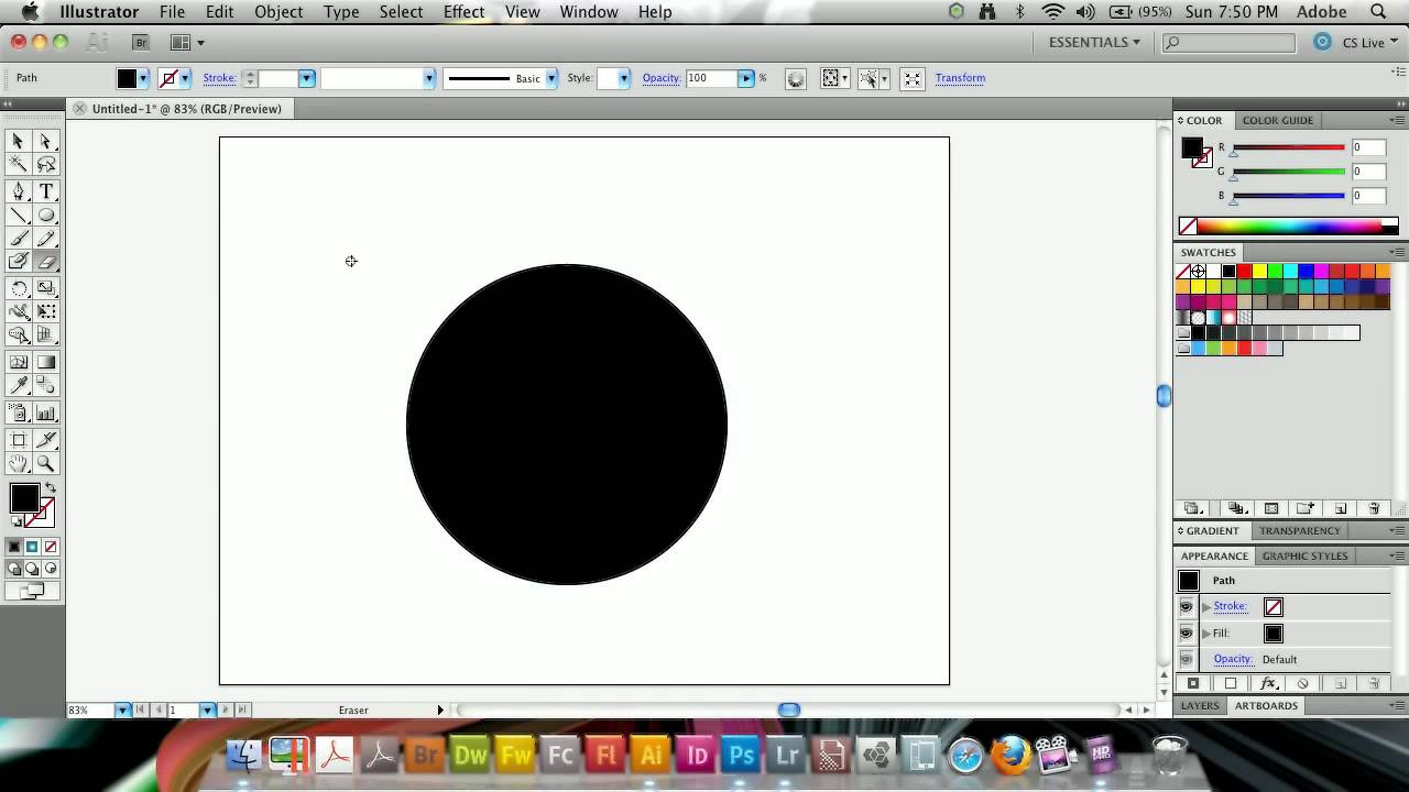how to close a shape in illustrator