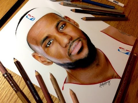 Drawing LeBron James