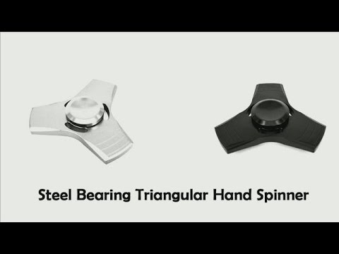 Steel bearing hand spinner finger fidget Toy フィンガースピナーフィジェット