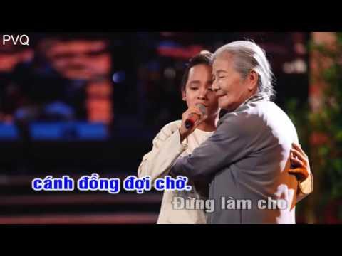 KARAOKE   Bà Năm   Hồ Văn Cường BEAT CHUẨN