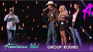Laine Hardy, Lacy K. Booth, Colby & Katie Belle Form An EPIC Country Group | American Idol 2019