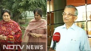 HRD Minister vs top scientist: NDTV interview creates storm