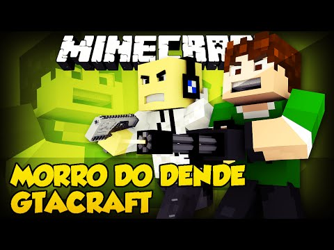 Minecraft: MORRO DO DENDE - GTACraft (Mini-Game)