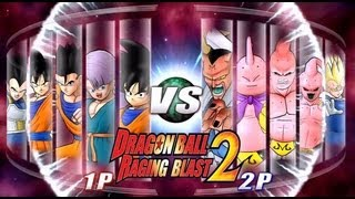 Dragon Ball Z Raging Blast 2 Saiyans VS. Majins (Battle