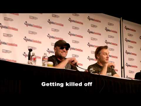 Walking Dead Q&A - Michael Rooker, David Morrissey - Dallas Comic-Con 2014