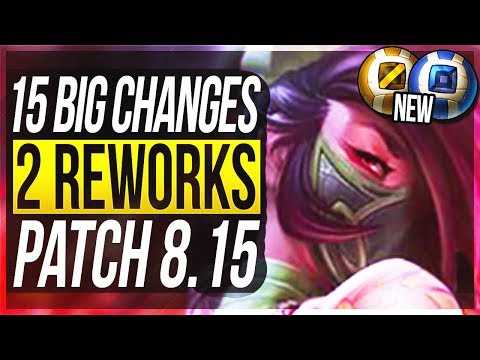 NEW ASSASSINS & FREE LOOT! 15 BIG CHANGES & NEW OP CHAMPS Patch 8.15 - League of Legends