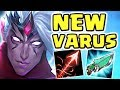 WHAT IS THIS DAMAGE FULL AP VARUS JUNGLE IS ACTUALLY BUSTED UNREAL DAMAGE TANKS CAN T SURVIVE