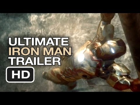 Iron Man Ultimate Trilogy Trailer - Robert Downey Jr. Movie HD, enjoy the video friends