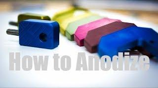 ShopBuilt - How to Anodize Aluminum!