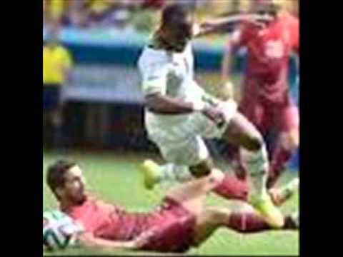 John Boye GOAL 2-1 Portugal vs Ghana 2014 World Cup REVIEW