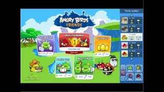 Angry Birds Friends & Tournament Mode First Look (Facebook