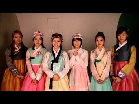 2014년 달샤벳 새해 인사입니다.