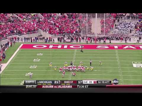 Ohio State vs Michigan 2012 Highlights (Week 13)