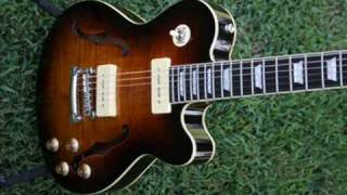 Stadium Semi-Hollow Body Guitar LP Style