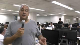 O rep�rter Ivan Drummond comenta a vit�ria do Sele��o Brasileira sobre R�ssia no Mundial de V�lei