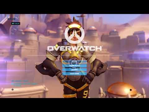 (Overwatch) Game Rankd as Tracer W/ Y-Z-N_SA , Ililas