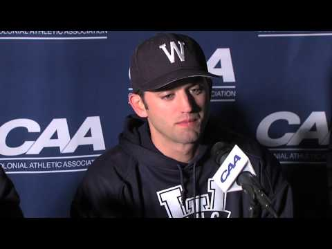 2013 Baseball #CAAChamps Game 8 Postgame Press Conference -- UNCW