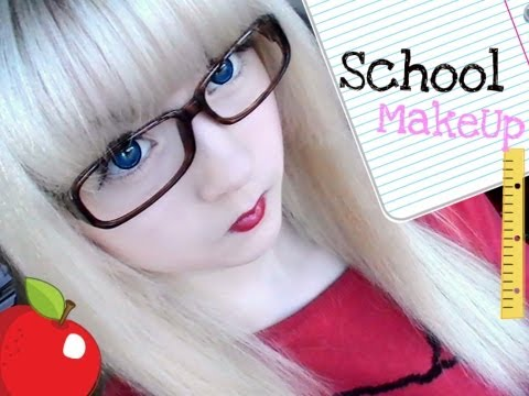 Perfect School Styling, Hello my easy cheesy lemon squeezy pies! I'm gonna show you my minimal makeup for school! A young face shouldn't be caked in makeup, so we're going to skip a...