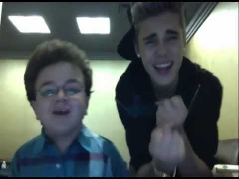 Justin Bieber and Keenan Cahill Mash Up - Funny Video