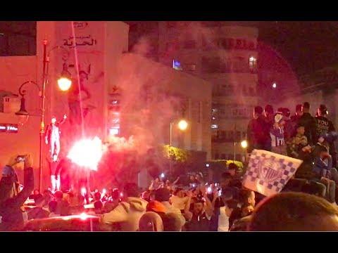 أجواء احتفالية بشوارع طنجة بعد فوز فريق البوغاز بلقب البطولة
