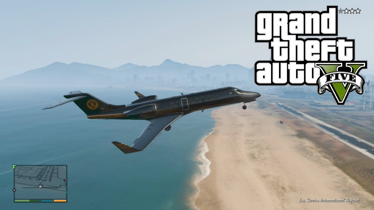 how to fly an airplane in gta 5 pc