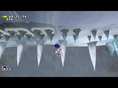 Sonic Adventure DX - Funny Jumping