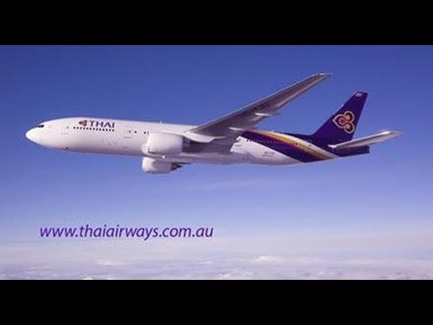 Thai Airways Boeing 777-200, Brisbane to Bangkok